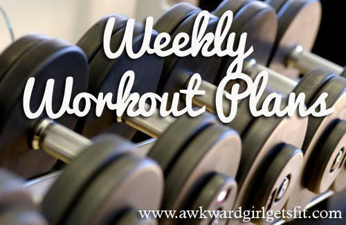 Weekly WOrkout Image
